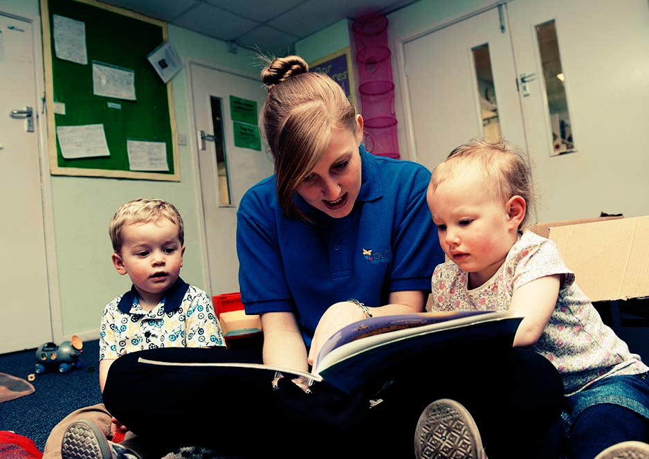 Childcare students enjoy hands-on learning with practical activities on work placements.