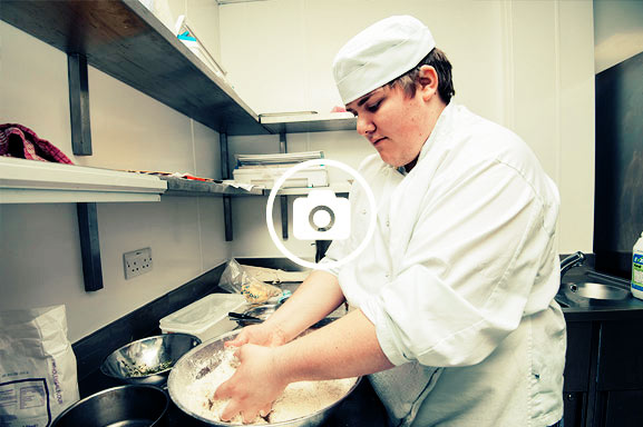 Wannabe chefs learn the basic skills of cookery which underpin every catering job in industry.